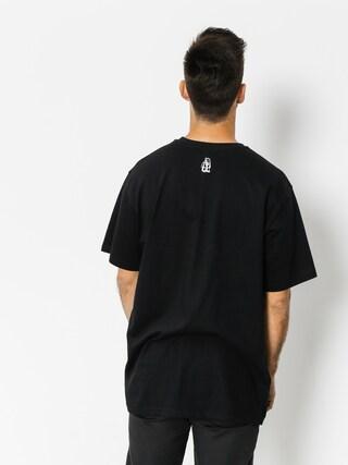 Tričko Tabasko Cut (black)