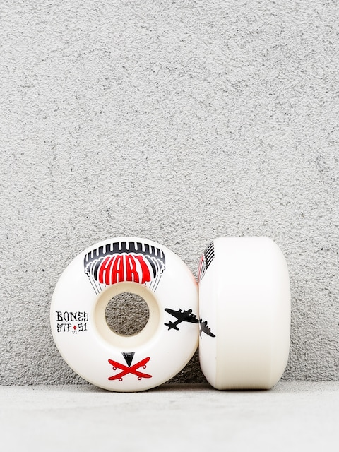 Kolečka Bones Hart Drop Boards Formula V1 (white)