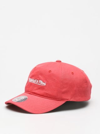 Kšiltovka  Mitchell & Ness Washed Cotton Dad ZD (coral)