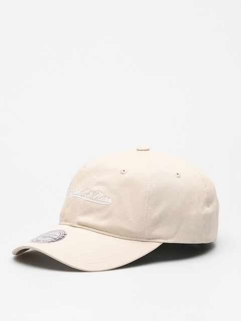 Kšiltovka  Mitchell & Ness Washed Cotton Dad ZD (beige)