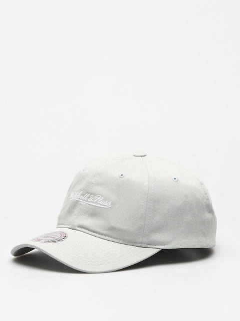 Kšiltovka  Mitchell & Ness Washed Cotton Dad ZD (light grey)