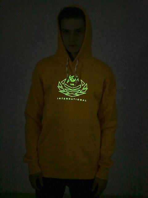 Mikina s kapucí Koka Laurel HD (yellow)