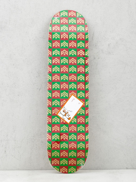 Deska Minilogo Chevron Gift Wrap (red/green)