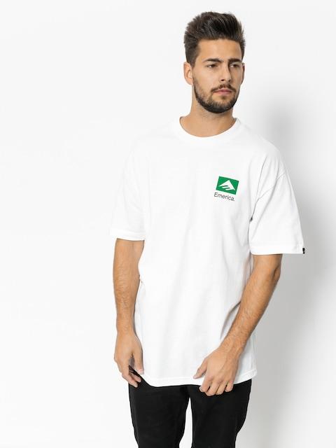 Tričko Emerica Brand Combo (white)