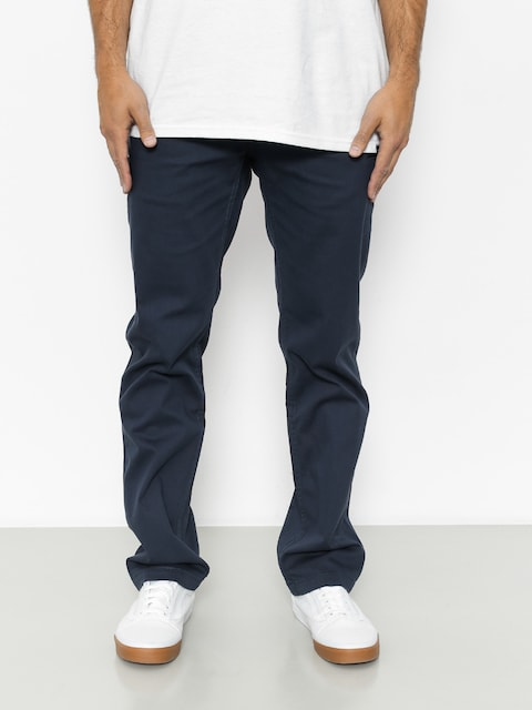 Etnies Kalhoty Staple Straight Chino (dark navy)