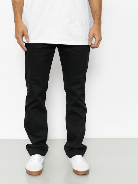 Kalhoty Etnies Essential Straight Chino (black)
