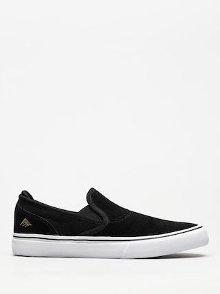 Boty Emerica Wino G6 Slip On (black/white/gold)
