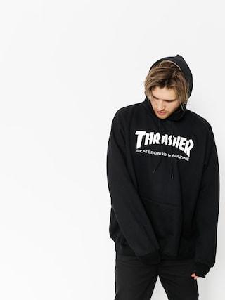 Thrasher Mikina s kapucu00ed Skate Mag HD (black)