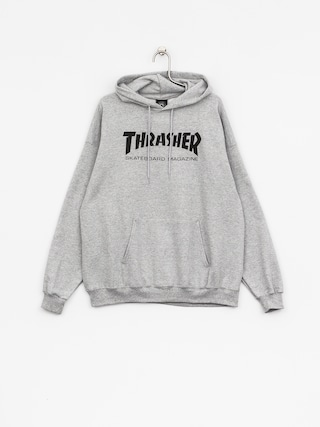 Thrasher Mikina s kapucí Skate Mag HD (grey)