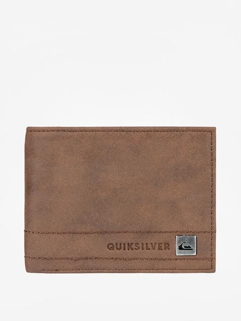 Peněženka Quiksilver Stitchy Wallet 3 (chocolate)