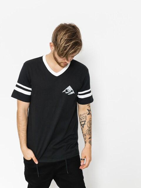 Tričko Emerica Toy Stripe V (black)