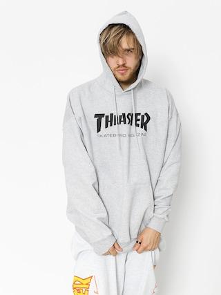 Thrasher Mikina s kapucu00ed Skate Mag HD (grey)