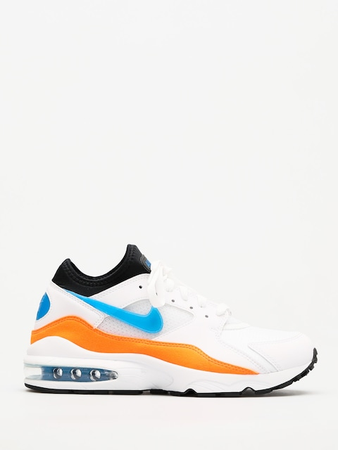 Boty Nike Air Max 93 (white/blue nebula total orange black)