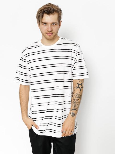Tričko Nike SB Summer Stripe (white/white)