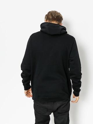Mikina s kapucí Nike Sportswear HD (black/black/white)