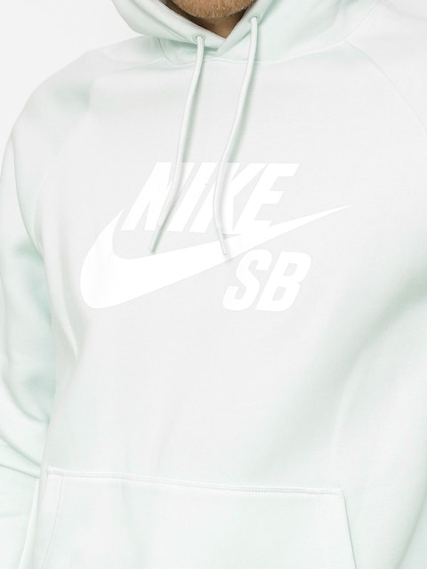 Mikina s kapucí Nike SB Sb Icon HD (barely grey/white)
