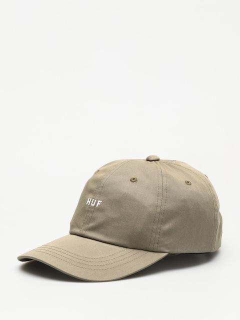 Kšiltovka  HUF Og Logo Curved Visior ZD (drab olive)