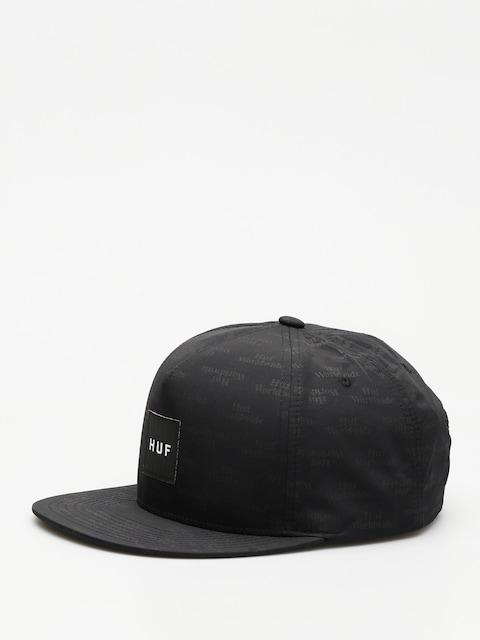 Kšiltovka  HUF Box Logo Jacquard ZD (black)