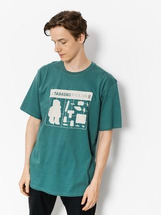 Tričko Tabasko Jigsaw (turquoise)