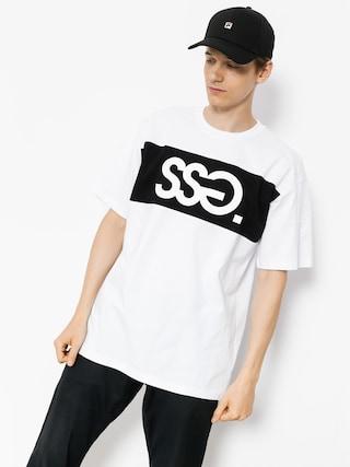 Tričko SSG Belt (white)