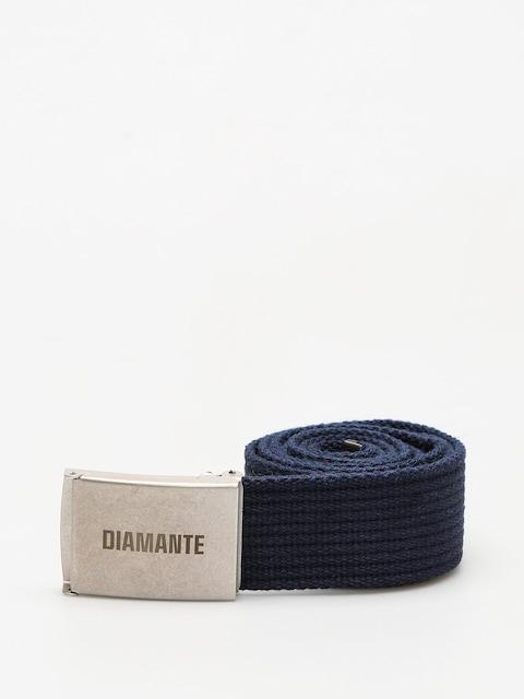 Pásek Diamante Wear Classic (navy/silver)