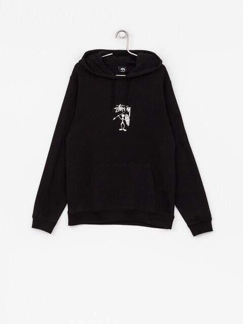 Mikina s kapucí Stussy Tribeman HD (black)