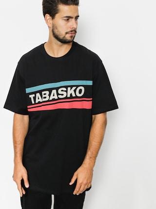 Tričko Tabasko Skew (black)