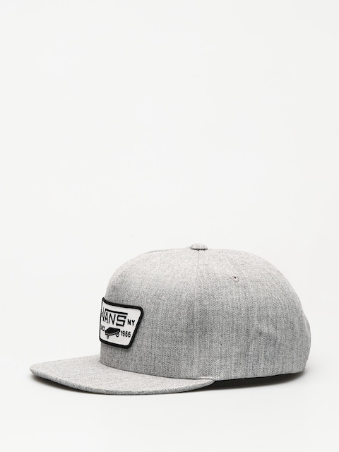 Kšiltovka Vans Full Patch Snapback ZD (heather grey)