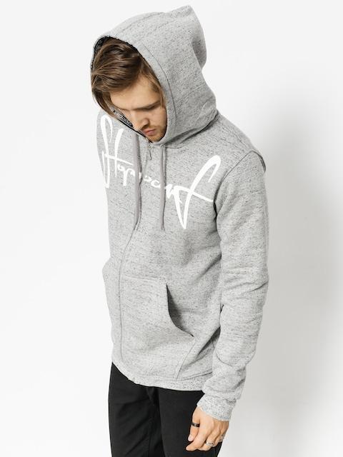 Mikina s kapucí Stoprocent Tag18 ZHD (grey)