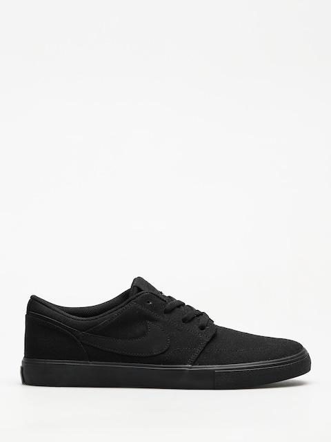 Boty Nike SB Portmore II Solar Cnvs (black/black)