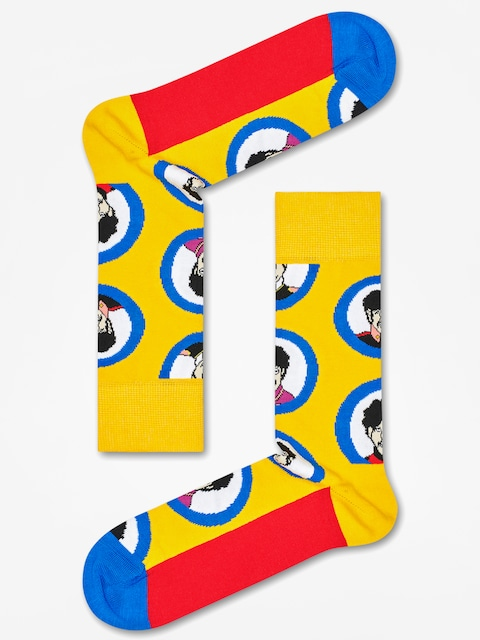 Ponožky Happy Socks The Beatles (yellow/blue/red)
