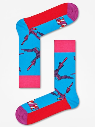 Ponožky Happy Socks The Beatles (blue/red/purple)