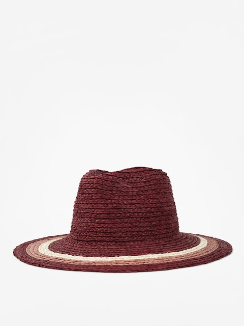 Klobouk Brixton Hampton Fedora Wmn (red/blush/tan)
