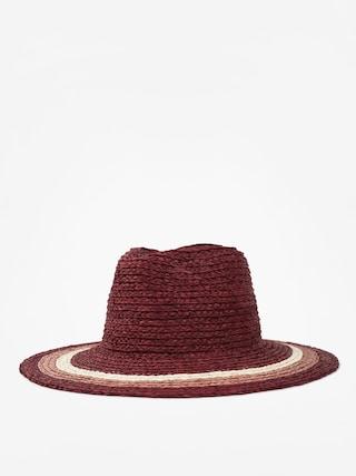 Klobouk Brixton Hampton Fedora Wmn (red/blush/tan)
