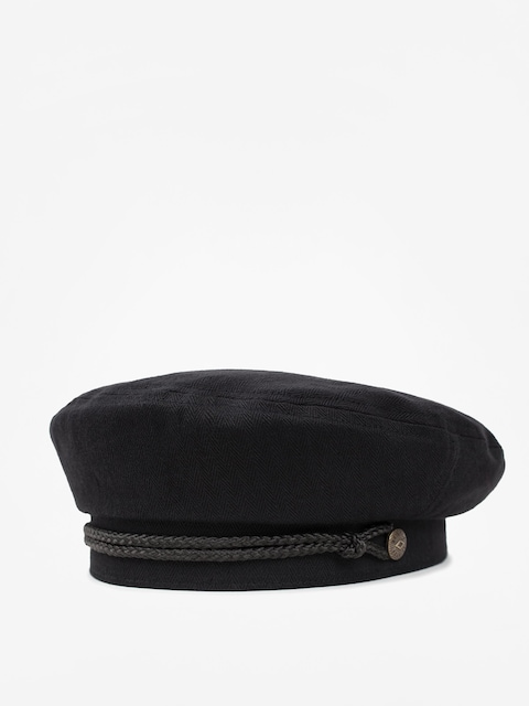 Klobouk s kšiltem Brixton Beret Caroline ZD Wmn (black)
