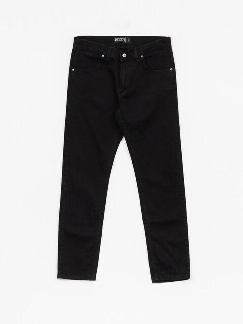 Kalhoty Nervous Incomplete (black)