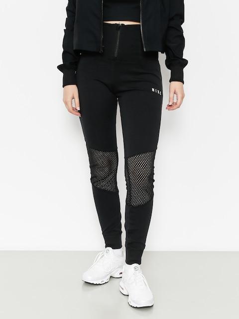 Leginy Nike Essntl Lggng Mesh Wmn (black/black/light bone)