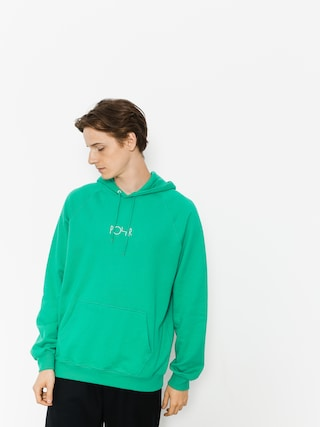 Mikina s kapucí Polar Skate Default HD (green)