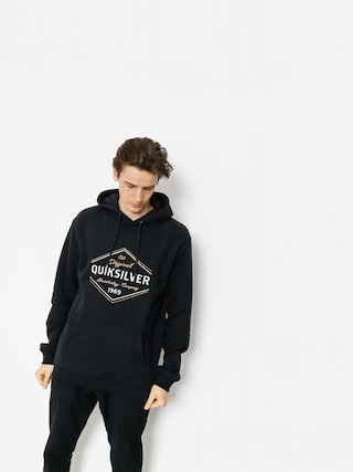 Mikina s kapucí Quiksilver Nowhere North HD (black)