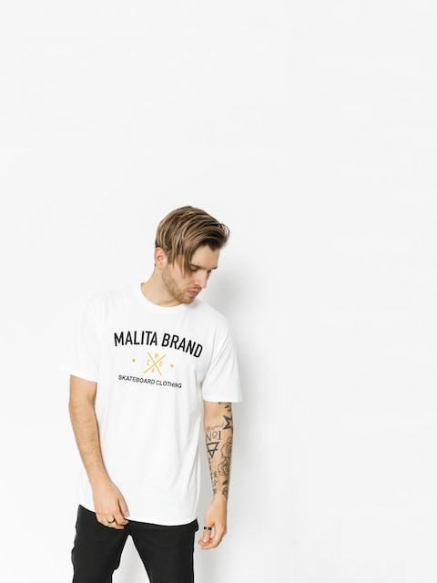 Tričko Malita Brand (white)