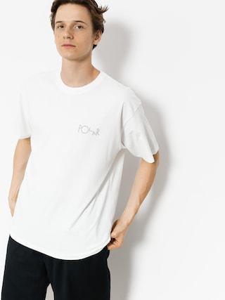 Tričko Polar Skate Click (white)