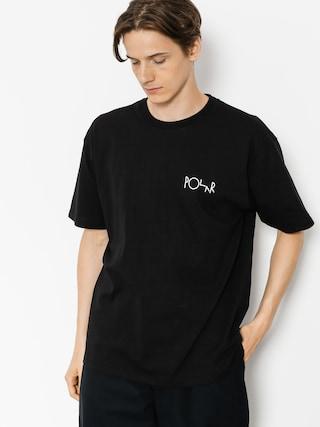 Tričko Polar Skate Click (black)