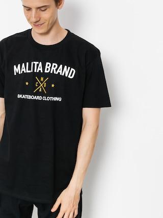 Tričko Malita Brand (black)