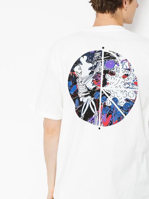 Tričko Polar Skate Skeleton Fill Logo