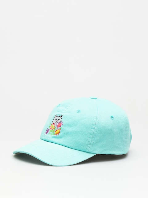 Kšiltovka  RipNDip Flowers For Bae Overdye Dad Hat ZD (mint)