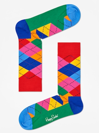 Ponožky Happy Socks Argyle (red/blue/multi)