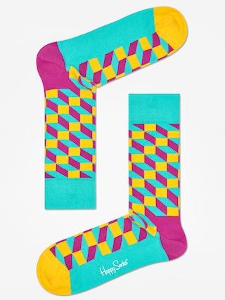 Ponožky Happy Socks Filled Optic (teal/multi)