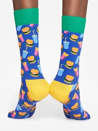 Ponožky Happy Socks Hamburgers (navy/green/pink)