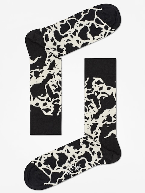 Ponožky Happy Socks Marble (black zebra)