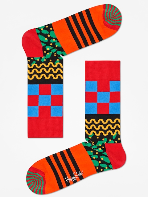 Ponožky Happy Socks Mix Max (red/multi)